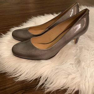 ANTONIO MELANI Gray Fallon Pumps   7 1/2